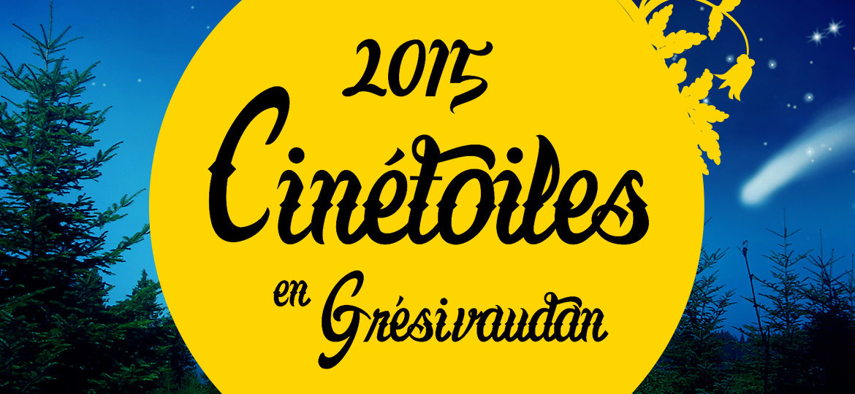 Cinétoiles en Grésivaudan 2015