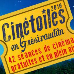 Cinétoiles en Grésivaudan 2016