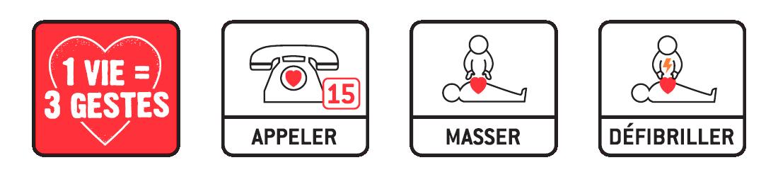 3 gestes pour sauver une vie !